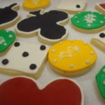 Casino Party Cookies