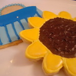 Handbag and Sunflower Sugar Cookies