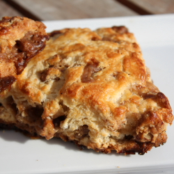 Southern Pecan Praline Scones (and an Ultimate Recipe Showdown follow-up)
