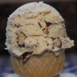 Butter-Toffee Crunch Ice Cream