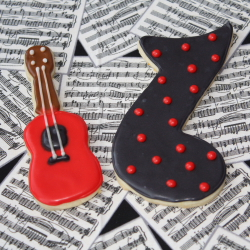 Cake and Cookies for a Future Guitar Hero