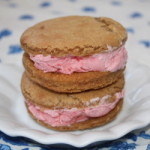 Homemade Strawberry Ice Cream Sandwiches