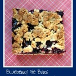 Blueberry Pie Bars with Almond Streusel