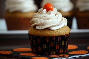 Spiced Butternut Cupcakes with Brown Butter Buttercream