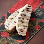 Food Blogger Cookie Swap: Lemon-Glazed Almond, Anise, and Cranberry Biscotti