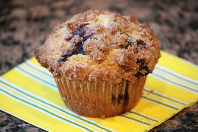 Sweet and Simple: My Favorite Blueberry Streusel Muffins