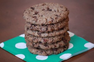 Chewy Chocolate Cranberry Pecan Cookies