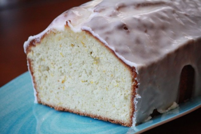 Toasted Coconut and Tangerine Pound Cake
