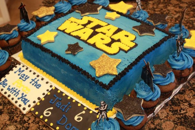 May the Frosting Be With You Star Wars Cake and the Jedi Master of