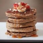 Breakfast at Elvis's: Whole Grain Peanut Butter and Banana Pancakes