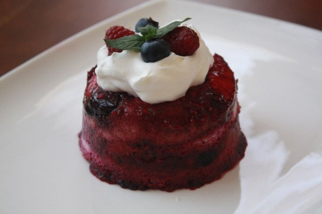 English Summer Berry Puddings