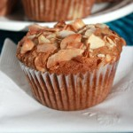 Tropical Banana Coconut Macadamia Muffins
