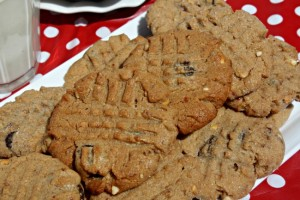 Peanut Butter Strawberry Cookies3