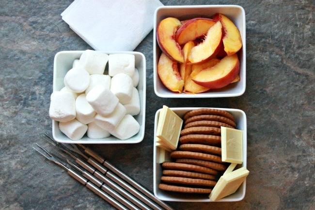 Peach Smores with Ginger Grahams 2