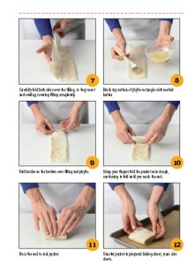 Phyllo Packets Step by Step 2