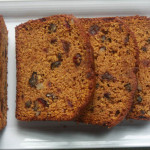 Pumpkin Spice Bread with Cranberries and Raisins