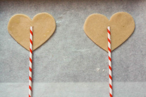 Heart Shaped Pie Pops - Peanut Butter and Julie