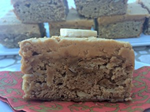 Brown Butter Banana Bread Bars 8