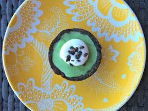 Frozen Chocolate Mint Tartlet