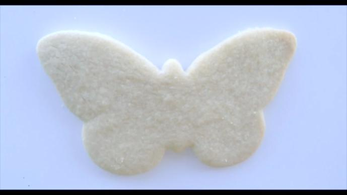 Butterfly Cookie Step1