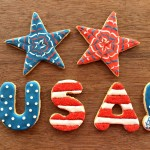 Fourth of July Decorated Cookies