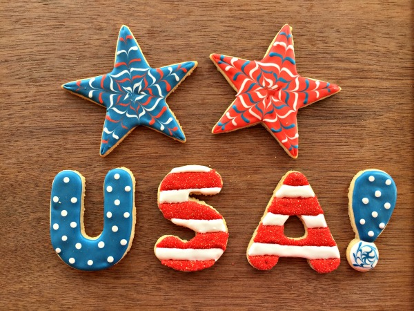 How to Decorate 4th of July Cookies