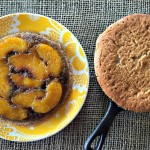 Grilled Peach Upside Down Cakes