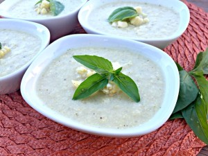 Grilled Summer Corn Soup