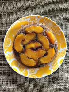 Mini Grilled Peach Upside Down Cakes1