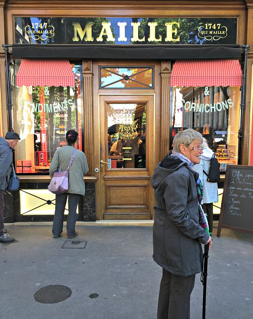 Maille Storefront in Paris