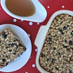 Baked Blueberry Oatmeal from The 8X8 Cookbook