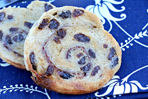 Cinnamon Raisin Swirl English Muffin