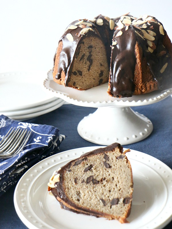 Banana Chocolate Chip Pound Cake