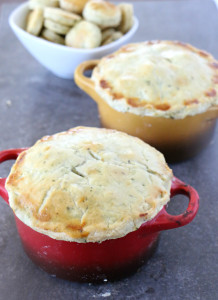 Chicken Vegetable Pot Pies