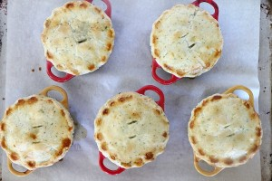 Chicken and Vegetable Pot Pies